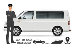 Private Minivan + Water Taxi